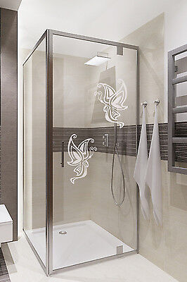 Butterfly art home stickers,Frosted decal,Bathroom,Door glass,Shower screen,