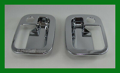 Grand General Peterbilt Driver & Passenger Door Handle Chrome Plastic Cover