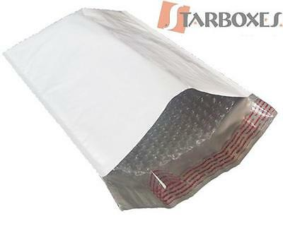 """Poly Bubble Mailers 4""""X8"""" #000 - Pack of 500"""