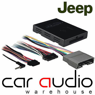 Jeep Grand Cherokee 08 On Car Stereo Amplified Active Speaker Adaptor