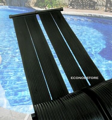 2x Energy Saving Above Ground Inground Swimming Pool Solar Heating Panel Heater