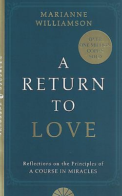 A Return To Love by Marianne Williamson NEW