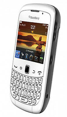 NEW Unlocked AT&T-Mobile BlackBerry White Curve WiFi 3G Smartphone