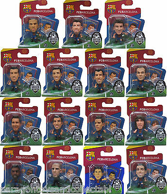 BARCELONA 2012/13 HOME KIT SOCCERSTARZ - Choice of 15 different blisters