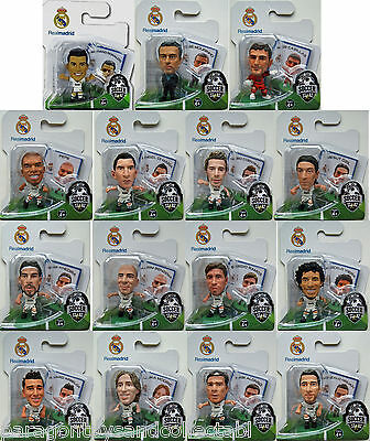 REAL MADRID 2012/13 HOME KIT SOCCERSTARZ - Choice of 15 different blisters