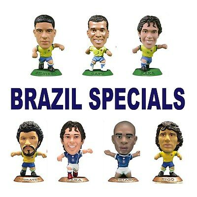 BRAZIL National MicroStars - Special Releases choice of 12 different figures