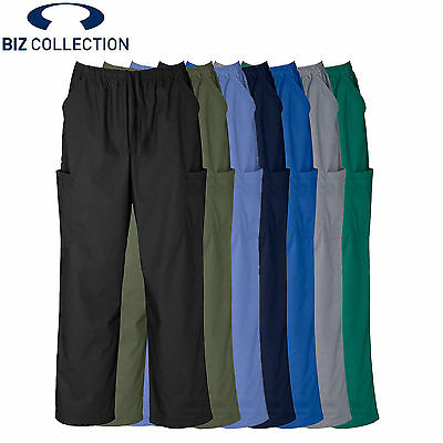 *NEW* Biz Collection UNISEX NATURAL STRETCH SCRUBS CARGO PANT H10610