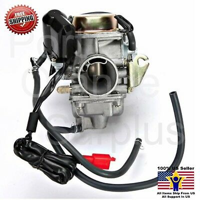 Carburetor 150cc Scooter Roketa SUNL Go-Kart FREE Filter GY6 GY-6 Carb 150 PD24
