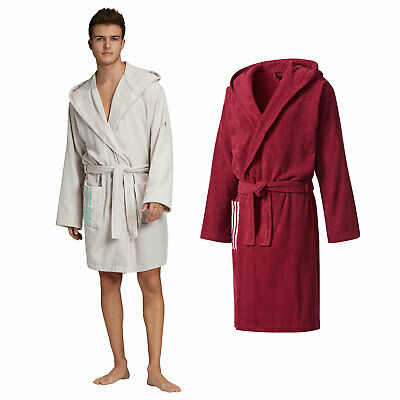 adidas Performance Bathrobe Herren Bademantel Saunamantel Morgenmantel