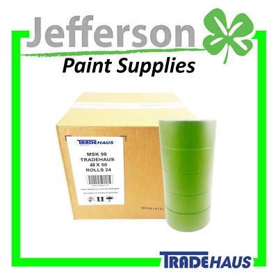 "High Temp Masking TAPE AUTOMOTIVE 20 ROLLS 48mm (2"") WRAPPING  High Temperature"