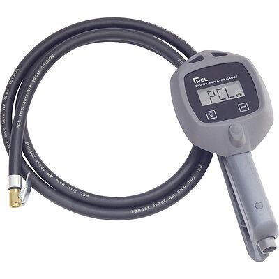 New PCL Digital Tyre Inflator With 1.8M Hose & Calibration Certificate DTI08