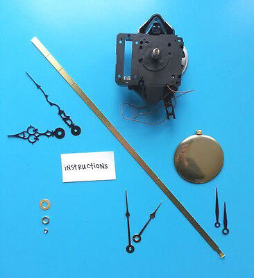 LONG Shaft Seiko Westminster/Whittington Chiming Clock Movement - Free Shipping!