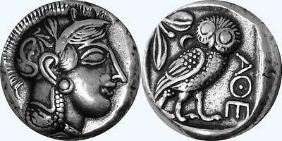 For Percy Jackson Fans, Mark of Athena/Owl, New Artists Rendition, Silver Plate