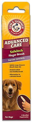 Arm & Hammer Dog Safelock  Finger Brush x 2. Premium Service. Fast Dispatch.