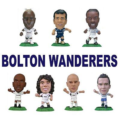 BOLTON WANDERERS MicroStars Choose from 13 different figure inc Japan Miniatures