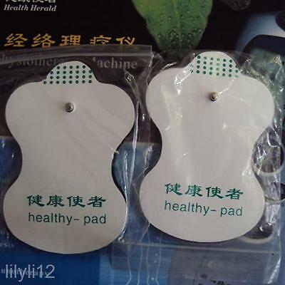 Lot Body Care LCD Digital Vibrate Therapy Massager Machine Healthy Electrode Pad