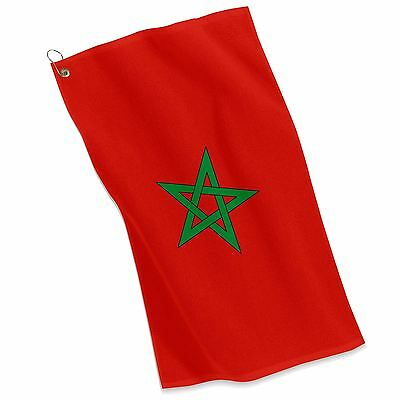 Golf / Sports Towel  - Flag of Morocco  - Moroccan