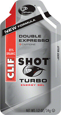 Clif Shot: Double Espresso Turbo with Caffeine 24-Pack