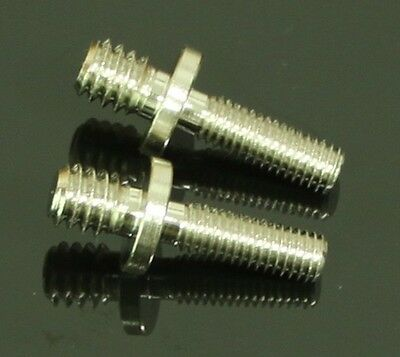 "2pcs long 1/4"" Male Threaded to M5 Male Threaded screw Adapter for tripod camera"