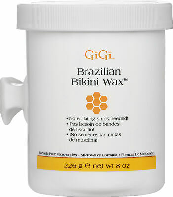 GiGi Brazilian Bikini Wax Microwave Formula No Strips Required Hair Waxing 226g