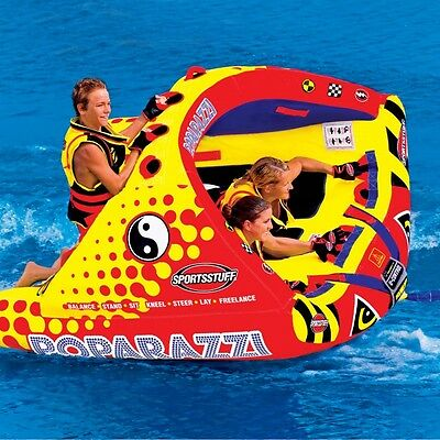 Sportsstuff Poparazzi Inflatable Triple Rider Towable - 53-1750