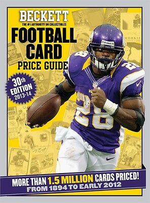 2013-2014 Beckett Football Card Price Guide #30 Adrian Peterson