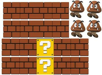Super Mario  Vinyl Wall Sticker Wall Decals