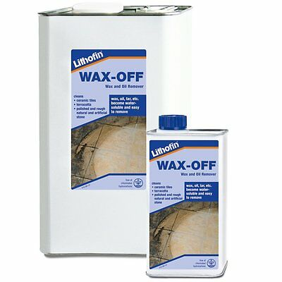 Lithofin Wax-Off Oil, Grease, Wax & Sealant Remover For Stone & Tile Flooring