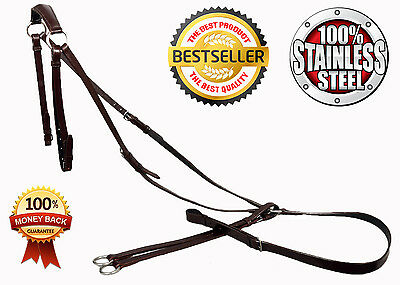 Quality Soft Leather Breastplate.all Sizes And Colours.most Selling Breastplate