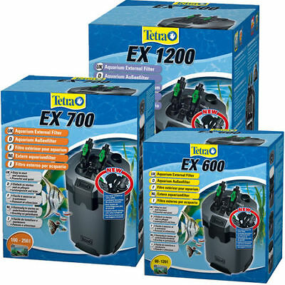 Tetra Tec EX600 700 1200 External Filter TetraTec Tropical Fish Tank Filter