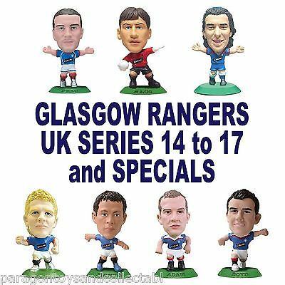 GLASGOW RANGERS MicroStars UK Series 14 to 17 & Specials choose from 11 figures