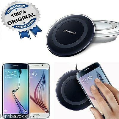 caricabatterie Wireless Charger originale Samsung Galaxy pad ricarica S6 Edge