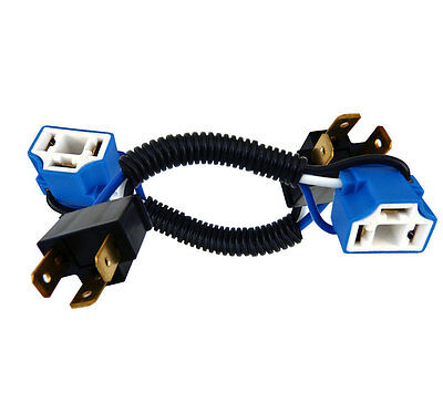 9003 H4 MALE to H13 9008 Female Socket Converter Pigtail