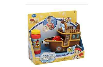 Disney Jake and the Never Land Pirates Pirate Ship Bubble Machine NEW IN BOX