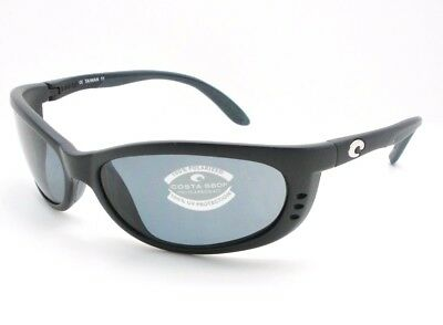 a42799d185 COSTA DEL MAR FA11OGP Fathom Black Frame Gray 580P Polarized Lens ...