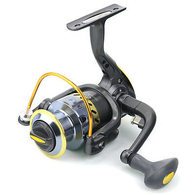 New Aluminum Spool 8BB High Power Gear Ratio 5.1:1 Spinning Fishing Reel YD2000