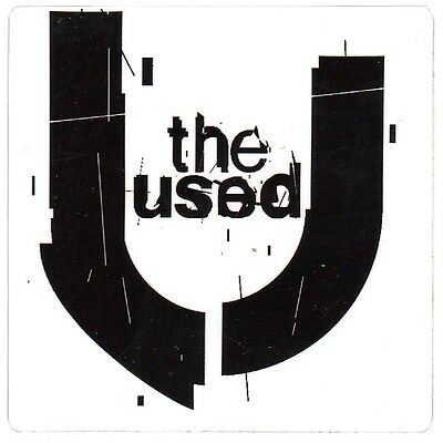 THE USED Vulnerable Ltd Ed Discotinued RARE Sticker +FREE Rock Punk Stickers!
