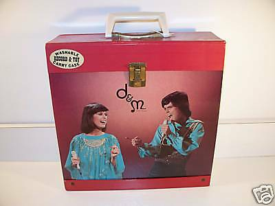 Donny & Marie Osmond Lp Record Tote