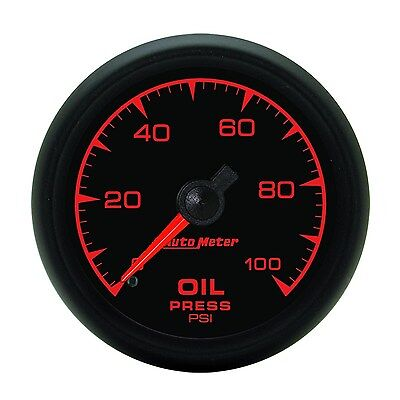 "Autometer Oil Pressure Gauge Mechanical 2.1/16"" 0-100 Psi - Au5921"