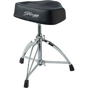 Stagg Pro Drum Throne Dt-220rm Double Braced, Heavy, Saddle (Stool)