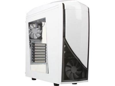 NZXT CA-PH240-W1 White Steel / Plastic ATX Mid Tower Computer Case
