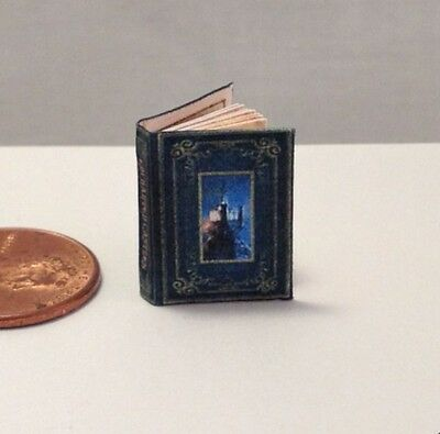 ENCHANTED CASTLES Miniature Book Dollhouse 1:12 Scale Color Illustrated Book