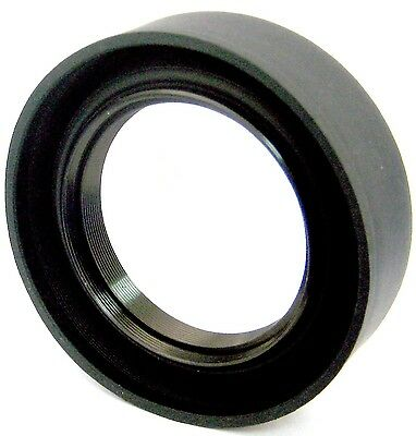58mm Soft Rubber Lens Hood for Canon and Nikon SLR Cameras