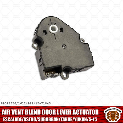 Air Vent Blend Door Lever Actuator for Escalade Astro Suburban Tahoe Yukon S-15