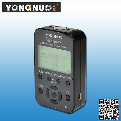 Yongnuo YN-622C TX  E-TTL Wireless Flash Controller for Canon Cameras