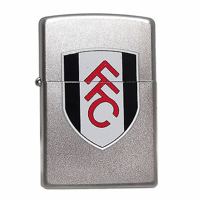 Fulham FC Official Football Gift Boxed Colour Crest Zippo Lighter