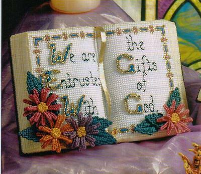 INSPIRATIONAL BIBLE PLASTIC CANVAS PATTERN INSTRUCTIONS ONLY FROM A BOOK