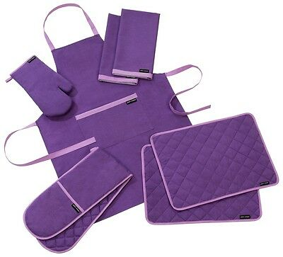 Plain And Simple Purple Haze Kitchen Textiles - Sold Separately Or As Sets