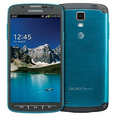 Samsung Galaxy S4 S 4 Active SGH-I537 16GB 4G LTE UNLOCKED AT&T, T-Mobile...
