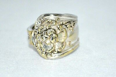 Vintage Silver Spoon Ring